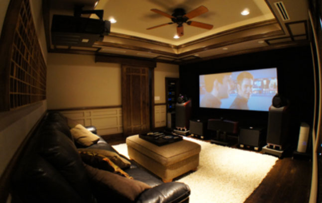 Powerful Hi-Fi and Big Filmscreen